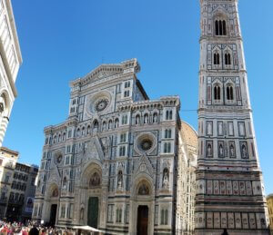 Florence Italy Domed cathedral, Firenze Duomo