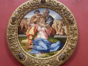 Michelangelo holy family