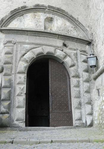 Odescalci entry door