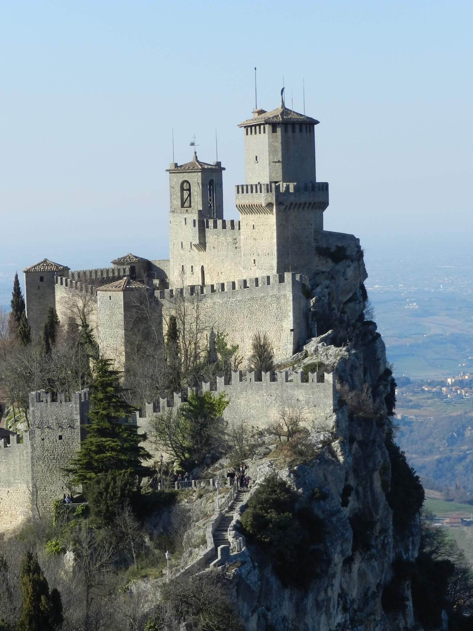 San Marino tower, Italy