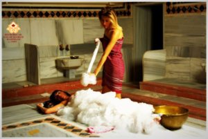 Turkish bath bubbles